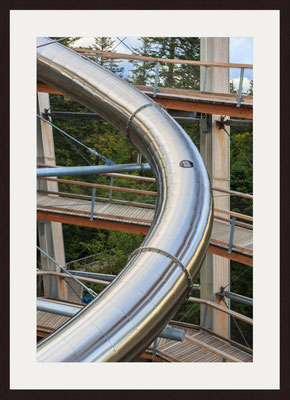 Tunnel Slide Treetop Tower, Bad Wildbad