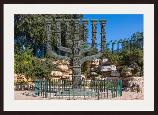 The Knesset Menorah, Jerusalem