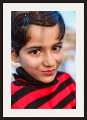 Girl, Blue City Sodagaran Mohalla, Jodhpur, Rajasthan