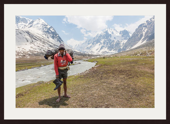 Porter, Trekking Jilang, Himachal Pradesh