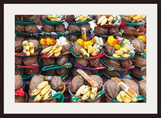 Food Presentation, Shantadurga Temple Ponda, Goa