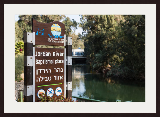 Place Where Jesus Was Baptised, Yardenit, Jordan River