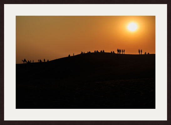 Sam Sand Dunes, Thar Desert, Kanoi, Rajasthan