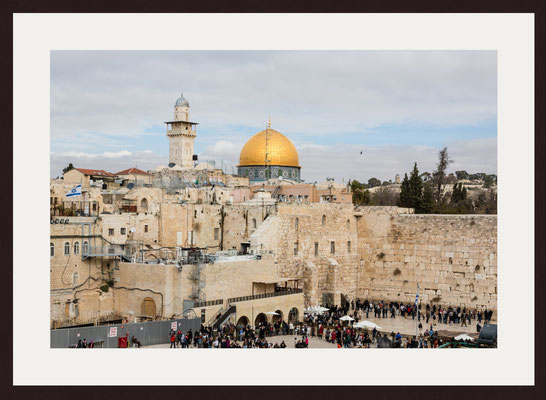 Western Wall, Dome of the Rock, The Old City of Jerusalem