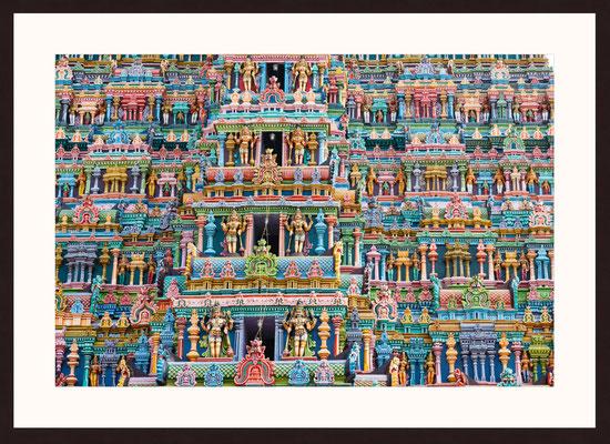 Meenakshi Amman Temple, Madurai, Tamil Nadu, Indien