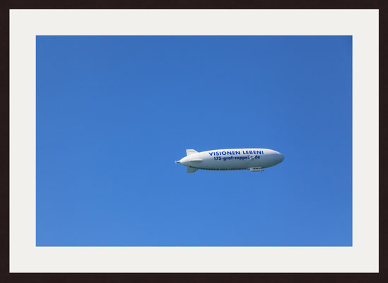 Zeppelin Airship, Lake Constance