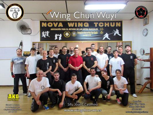 Wing Chun Wuyi - Chiclana de la Frontera. Seminario 2016
