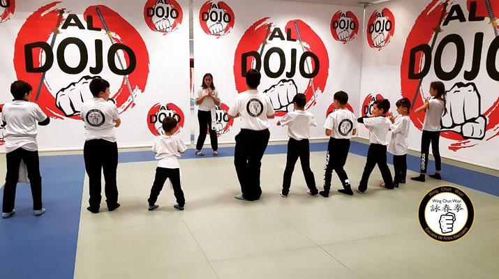 Kung Fu Infantil - Wing Chun Wuyi - Sije Tere Llorente