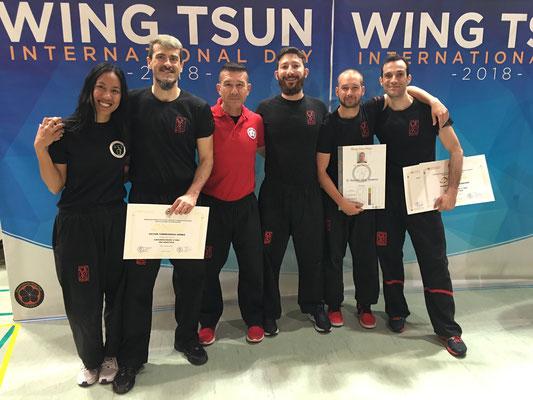 Wing Chun Wuyi en el CSD pase de Grado y Wing Chun Day 2018