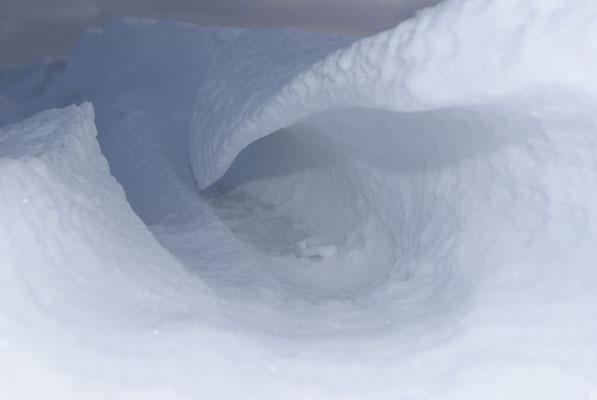 gefrorene Welle / Norderney