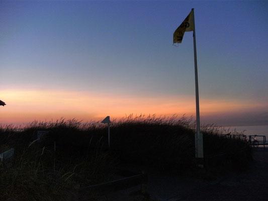 Am Ende des Tages - Minigolfplatz am Norderney Nordstrand/Surfcafé