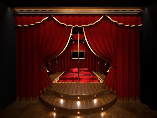 Moom motel Teatre room