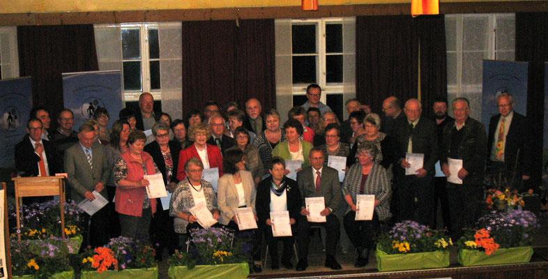 53 Mitglieder feierten ihr 25-jähriges Vereinsjubiläum