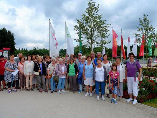 Vereinsfahrt 2016 auf die Landesgartenschau in Bayreuth