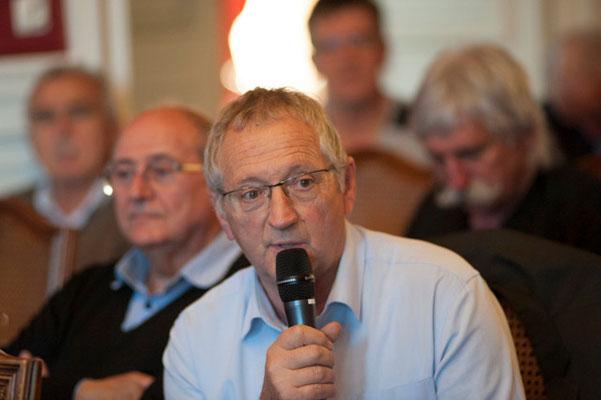 Francis MATHIEU Maire de Robiac Rochessadoule (30)