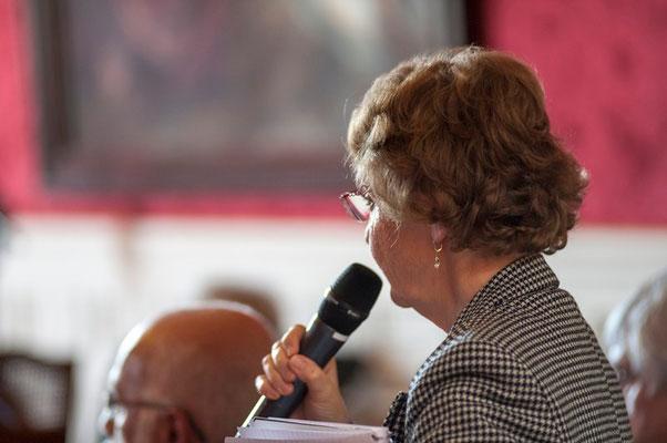 Geneviève ISSON  Maire de Sémeac (65) et Conseillère départementale d'Aureilhan
