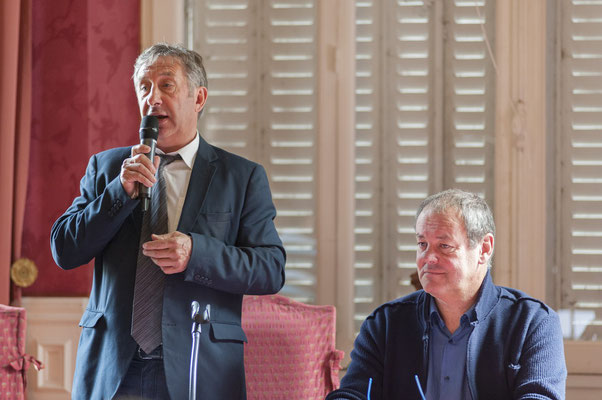 Alain GENIES Vice-Président du Conseil Départemental de L'Aude