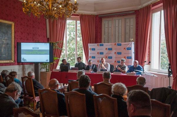 Introduction de Francis Cros Président de la Communauté de commune du Haut-Languedoc (34) et Président de l'Union Régionale de Communes Forestières du Languedoc-Roussillon