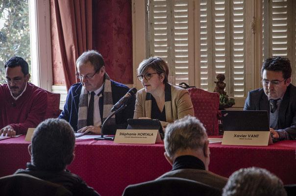 Stéphanie Hortala Conseillère départementale de l'Aude