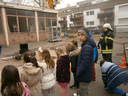 machen wir einen Ausflug zur freiwilligen Feuerwehr in Hegnach
