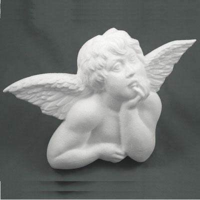 Engel aus Styropor mit 3D-Fräsbearbeitung gefertigt