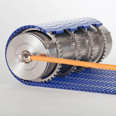 Für die Firma Procon Antriebstechnik GmbH fertigen wir Kettenräder aus Edelstahl für ihren Trommelmotor