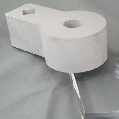 Bauteile aus Aluminium 80mm dick