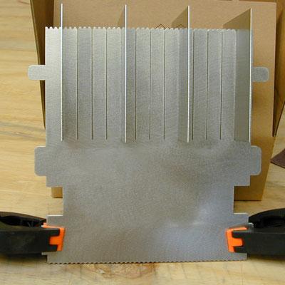 filigrane Schlitze mittels Laserschnitt