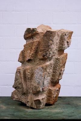 Freds Traum 9, 2010, Teutosandstein,  47x21x20 cm