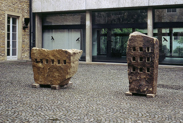 Ausstellungsansicht, Kunsthalle Osnabrück, 1999