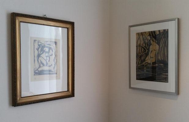 Theodor Steinkühler: Impressionen aus der Austellung im Peter-August-Böckstiegel-Haus 2015