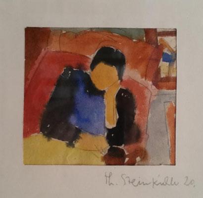 Theodor Steinkühler: Bilder aus der Ausstellung in der Kunsthalle Bielefeld 1983