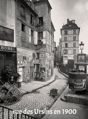 rue des Ursins en 1900