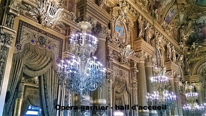 Opéra Garnier - hall d'accueil