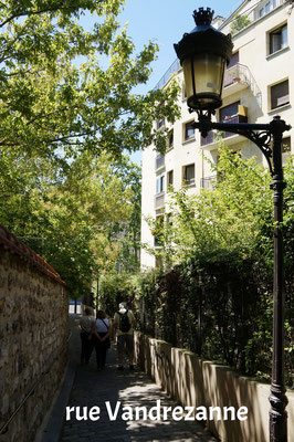 la rue Vandrezanne