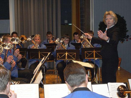 Dirigentin Petra Klaus