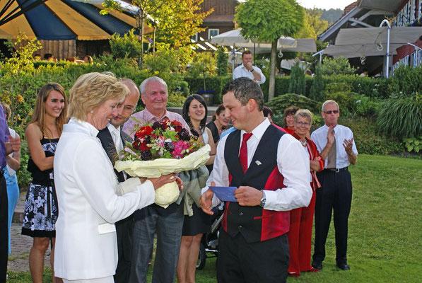 Gratulation dem Brautpaar!