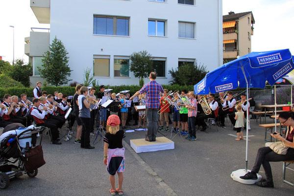 Massed Band - Brass Band Römerswil mit Jungbläser Ensemble