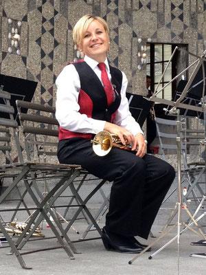 Esthi freut sich aufs Konzert