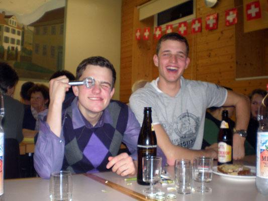 Raphi und Thomas Zimmermann