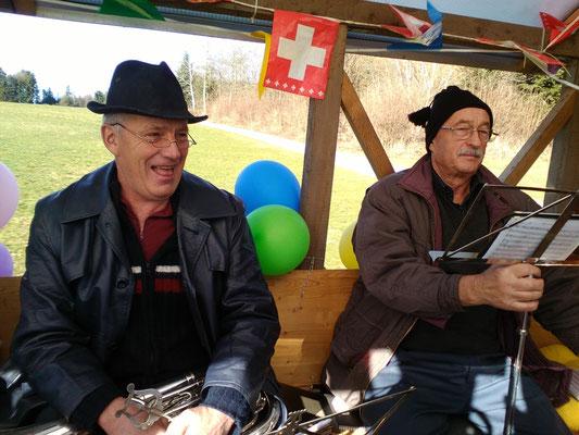 Sepp Wüest und Franz Renggli