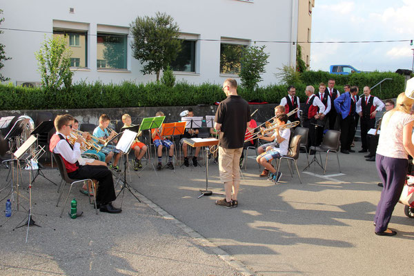 Jungbläser-Ensemble unter Franz Erni