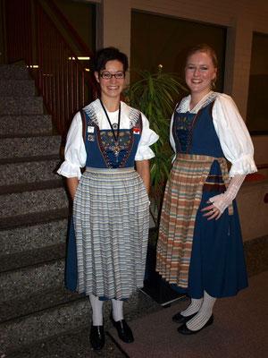 Erna Schacher und Käthi Frischkopf