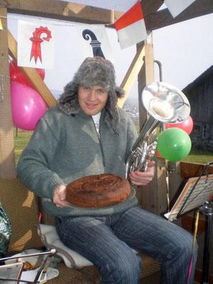 ... und den Kuchen