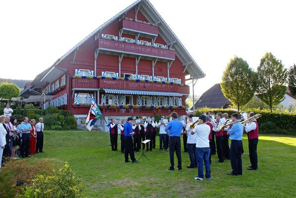 Hochzeitsständchen beim Restaurant Herlisberg