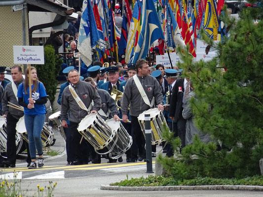 Veteranenehrung 2017 in Schüpfheim