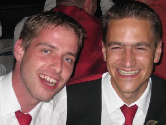 'Sidi' Peter Bucher und Thomas Ineichen