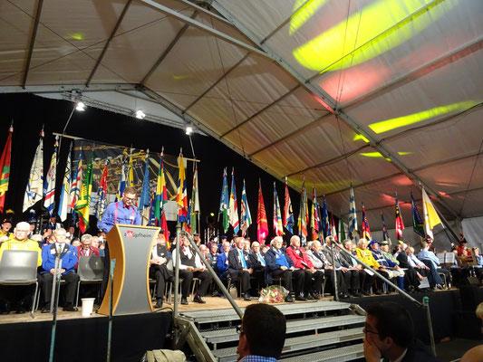 Anprache vom OK-Präsident Raymond Studer