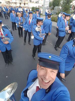 Die Vorfreude auf die Parade steigt
