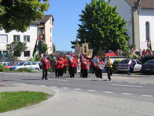 Prozession zum Rossacher